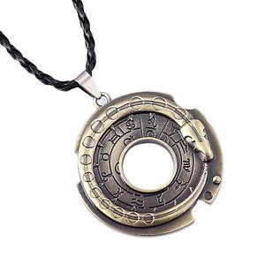 Unisex-Snake-Rune-Pendant-Necklace-Viking-Norse-Ouroboros-Gift-UK-Stock