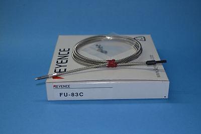 Keyence FU-83C Fiber Amplifier Sensor FU83C 1M Long Cable New In Box
