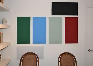 Paneles Acústicos 60 cm x 30 cm. Elegantes y Decorativos, Alta absorción ✅