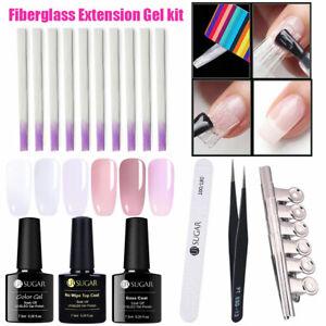 10pcs-pack-Fibernails-Fibra-di-vetro-for-Nail-Extension-Acrylic-Nail-Tip-DIY-Set