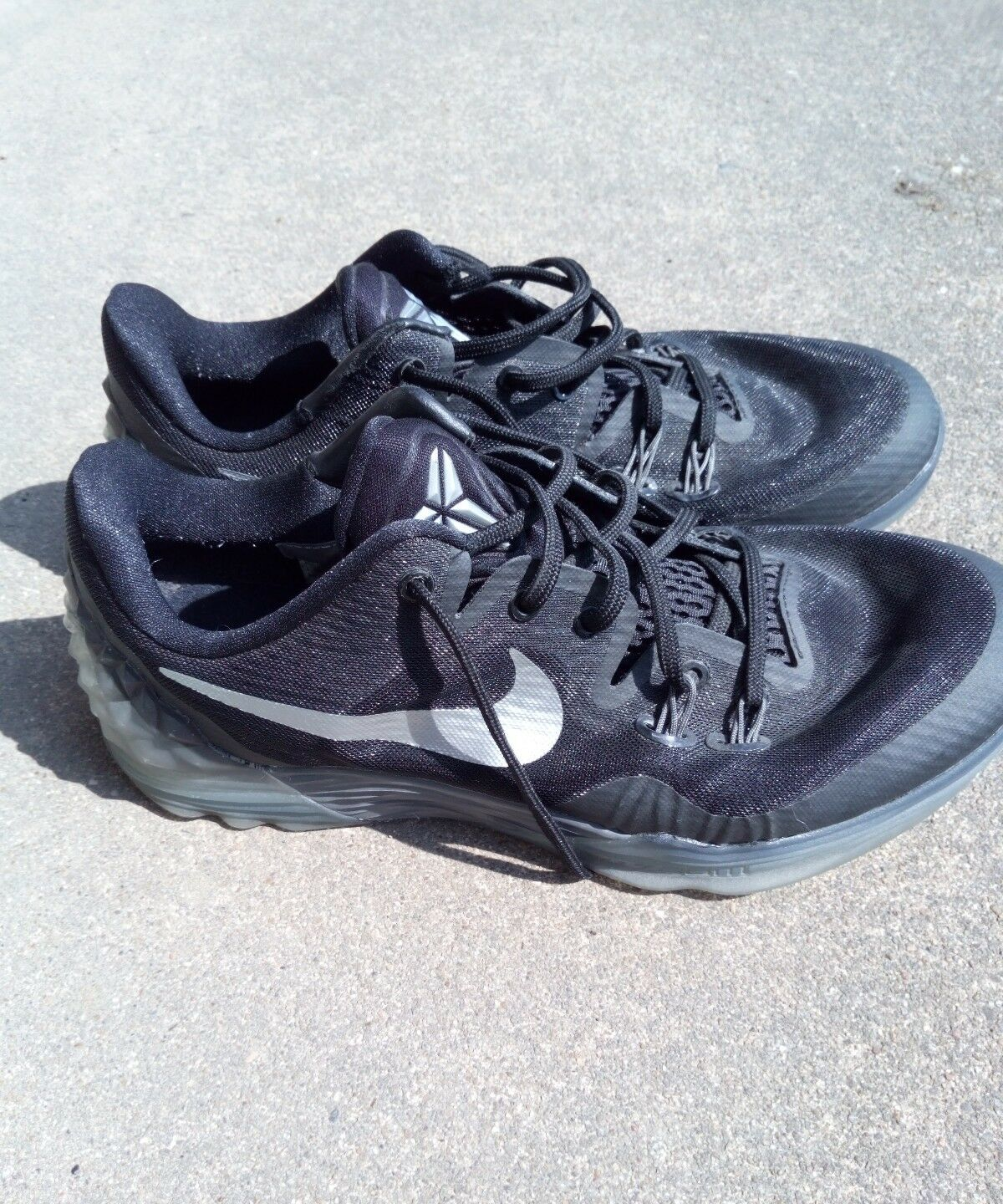 Nike Zoom Mens Running Shoes Size 8 Sneakers Black