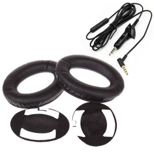 For Bose QuietComfort QC15 QC2  Replacement Ear Pads Cushion Audio Cable