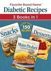 Diabetic Recipes 3 in 1 by Publications International, Ltd. (Paperback / softback, 2015)