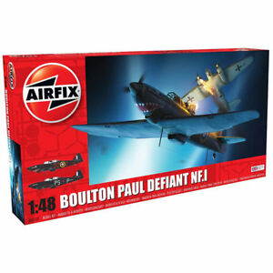 AIRFIX-A05132-A-Boulton-Paul-Defiant-NF-1-1-48-Aircraft-Model-Kit