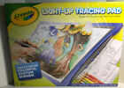 Light-Up Tracing Pad Coloring Board Kids Blue LED Power Crayola