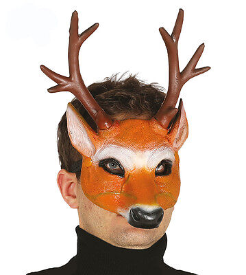 Novelty Head Full Overhead Mask Funny Stag Do Party Adults Fancy Dress Costume