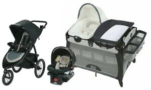 Graco Baby Stroller Jogger Travel System with Car Seat ...