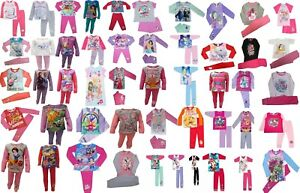 Girls Character Pyjamas. Ages 6 Months To 12 Years. Official Licensed Designs.