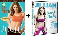 Jillian Michaels 30 DAY SHRED + HARD BODY 5 WKOUT LOSE 20lbs 1 MONTH + Bonuses