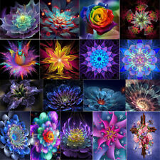 Fantasy Flower DIY 5D Diamond Painting Embroidery Cross Crafts Stitch Kit Decor