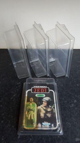 Star Wars MOC Action Figure Display Cases Vintage /& Modern More Carded Lines