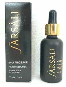 Farsali Volcanic Elixir Polynesian Beauty Oil 1 oz Vegan Cruel Free - New Sealed