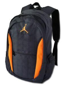 Nike Air Jordan Jumpman LOGO Backpack School BAG 9A1138-391 Black ... 45280027f11ce