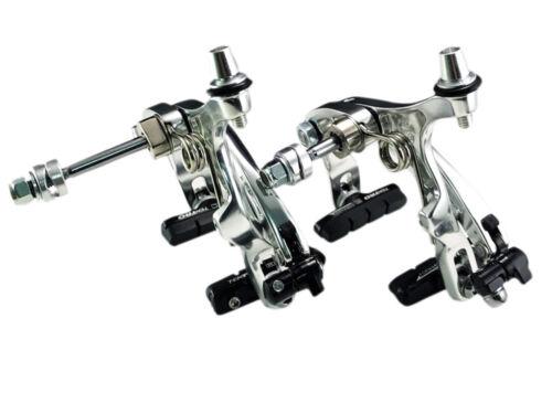 Silver TEKTRO R559 ROAD Bike Brake Calipers Long Arms 53-73 mm NUTTED Black
