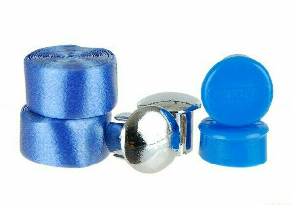 10x Sets NOS Benotto Handlebar Tapes blauw Bicycle Celo Wrap w Caps LOT of 10
