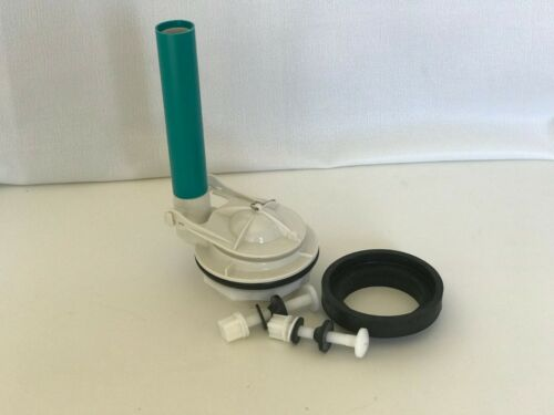 NuFlush Champion 4 Replacement Valve with Nylon Bolts /& Adjustable Overflow Tube