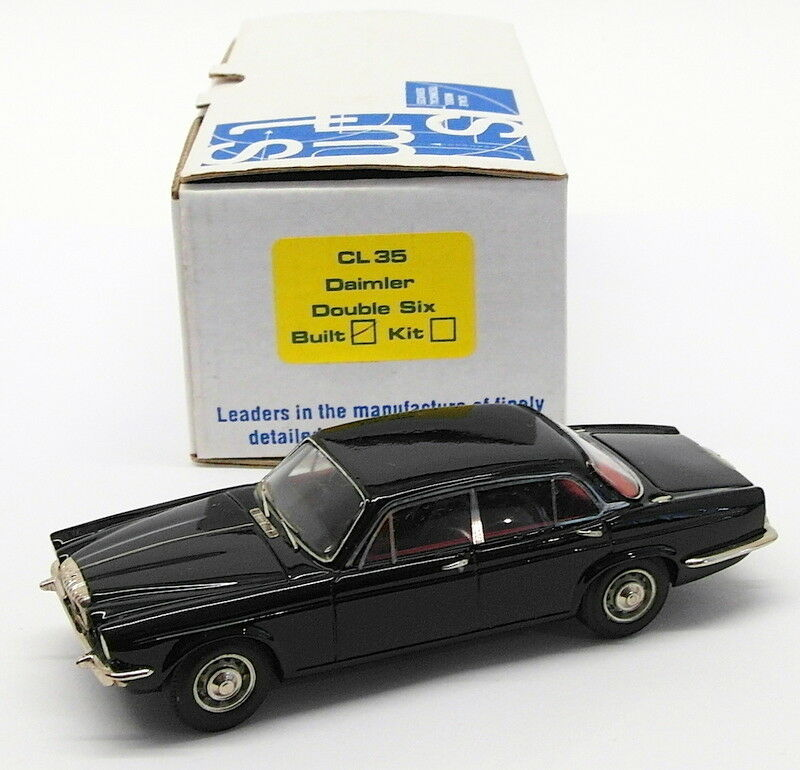 SMTS 1 43 Scale Model Car CL35 - Daimler Double Six - Dark bleu
