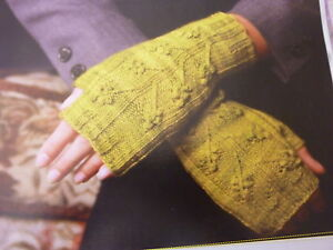 Knitting-Pattern-To-Knit-Ladies-Lovely-Fingerless-Mitts-In-4Ply-Takes-100gms