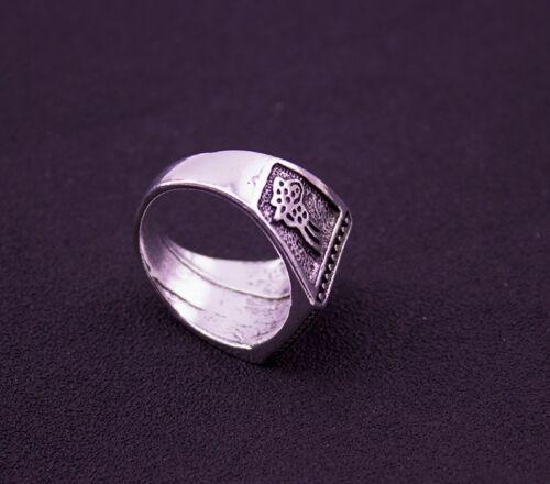 bague chevalière homme pierre plate noir carré 14 mm style rétro taille 58  .B..