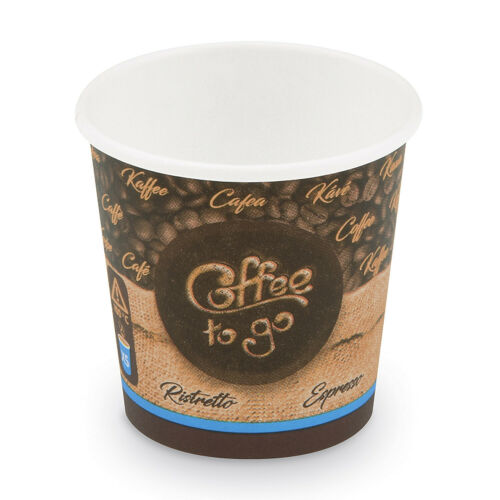 "XS Ø 62 mm 1000 Pappbecher /""Coffee to go/"" 110 ml"