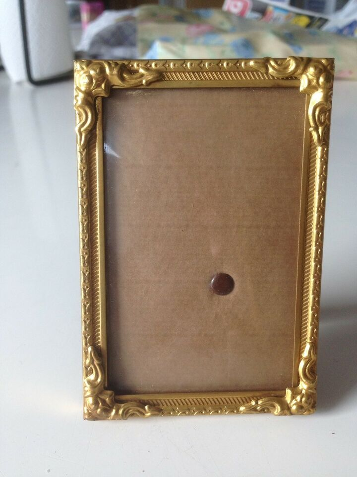 Lille gl. Foto ramme, Mål: 8x12