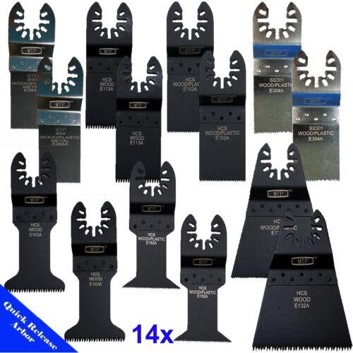 14 Saw Blade Oscillating Multi Tool Fein Bosch Dewalt Porter Cable Dremel Makita