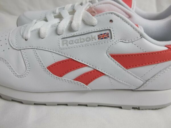 Reebok Size 5 M Classic Leather Pop White Running Sneakers New Womens Shoes  NWOB. Hover to zoom 7e6b31fa1