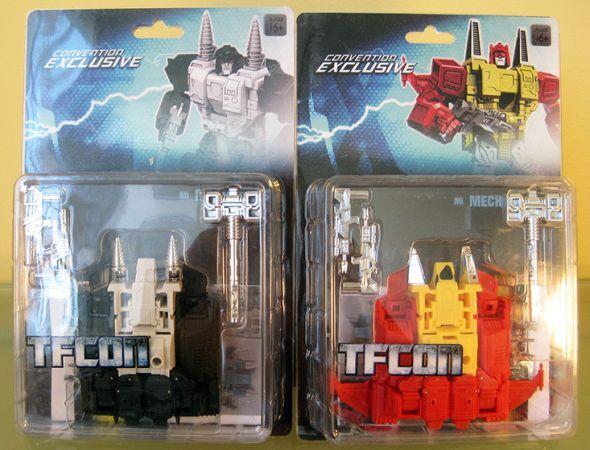 Transformers MANUEL Z e x saltmen Mech idee TopSpin twintwist G2 tfcon