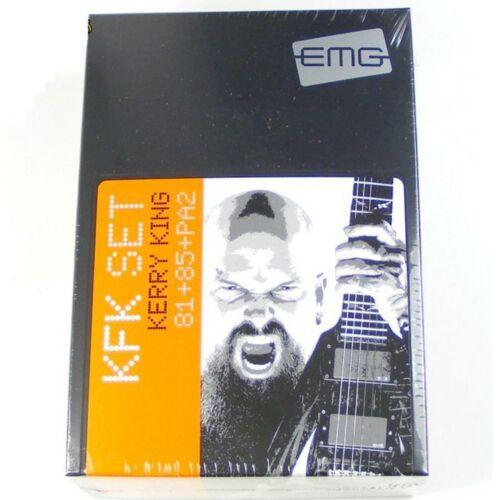 Solderless EMG-KFK Active Humbucker Pickup Signature Set Black PA2