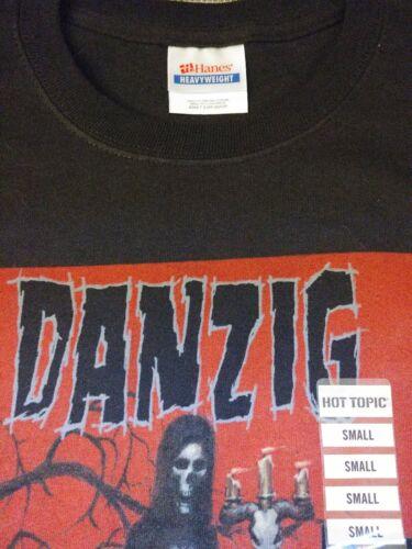 Men/'s S NWOT Dethred Sabaoth Danzig T-shirt Black