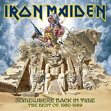 IRON MAIDEN SOMEWHERE BACK IN TIME: THE BEST OF 1980 - 1989 CD