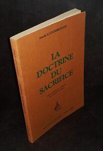 Ananda-Kentish-Coomaraswamy-La-Doctrine-du-sacrifice