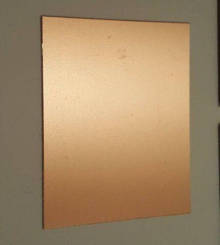 70//100 solo Doble Laminado placa de circuito impreso PCB de cobre de fibra de vidrio FR4