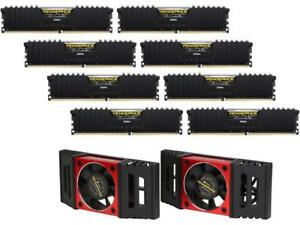 CORSAIR Vengeance LPX 128GB (8 x 16GB) 288-Pin DDR4 SDRAM DDR4 3600 (PC4 28800)