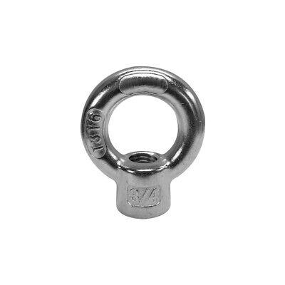 Marine 700 LBS 5 PC Stainless Steel SS 316 Eye Nut Tap Thread 5//16 UNC