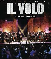 Il Volo Dvd - Live From Pompeii (2016) - Unopened