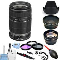Canon EF-S 55-250mm f/4-5.6 IS II Lens!! MEGA BUNDLE BRAND NEW!!