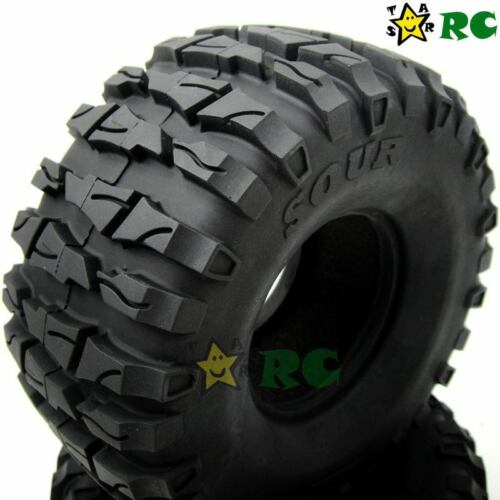 2pcs RC 1//10 2.2/'/' Tires Tyre 135mm AR Sour Fit Crawler Truck 2.2 Beadlock Rim