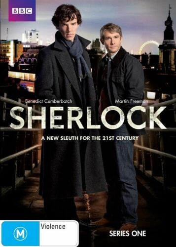 1 of 1 - SHERLOCK: SERIES ONE DVD REGION 4