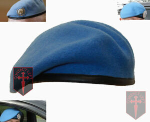 614135768bb68 NEW High Quality United Nations UN Beret All Sizes (Sky Light Blue ...