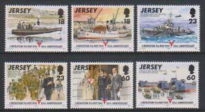 Jersey-1995-Jubilaeum-Von-Befreiung-Set-MNH-Sg-700-5
