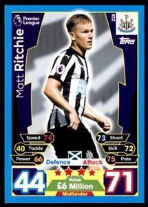Match Attax-on Demand 2018//19-118 Matt RITCHIE-Newcastle