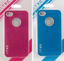I Phone 4, 4S case 1 blue & 1 Rubin pink, case for I Phone 4S & I Phone 4