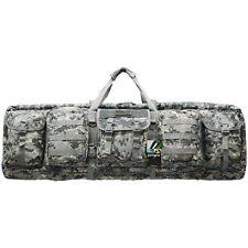 "EastWest Double 42"" Tactical Soft Padded Rifle Gun Case Bag AR15 AK47 - ACU CAMO"