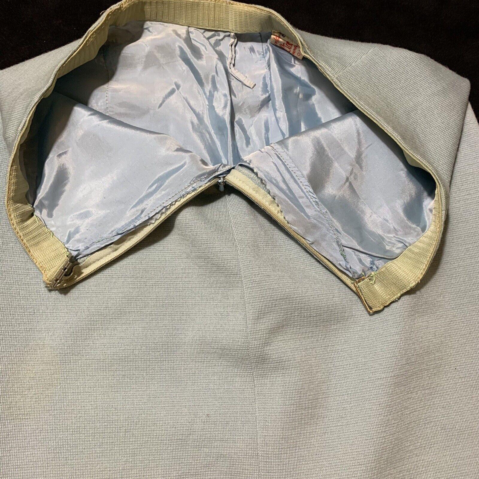 Vintage Coltalia Italy Wool Open Blazer Skirt Sui… - image 8