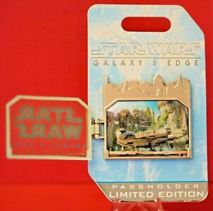 Details about Star Wars Galaxy's Edge 2019 Opening LE Annual Passholders  Millenium Falcon Pin