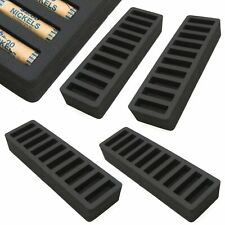4 Rolled Coin Storage Organizers Nickels Home Office Black 2 Nickel Holder Tray