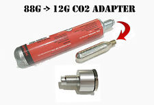 88g to 12g CO2 capsule CONVERTER ADAPTER for Air Rifle / Pistol gram COO.001