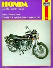 Honda 750 4 Cylinder Owner's Workshop Manual by Jeff Clew (Paperback, 1988)