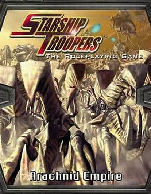 STARSHIP TROOPERS THE ARACHNID EMPIRE MGP9205 Science Fiction RPG (Brand New)